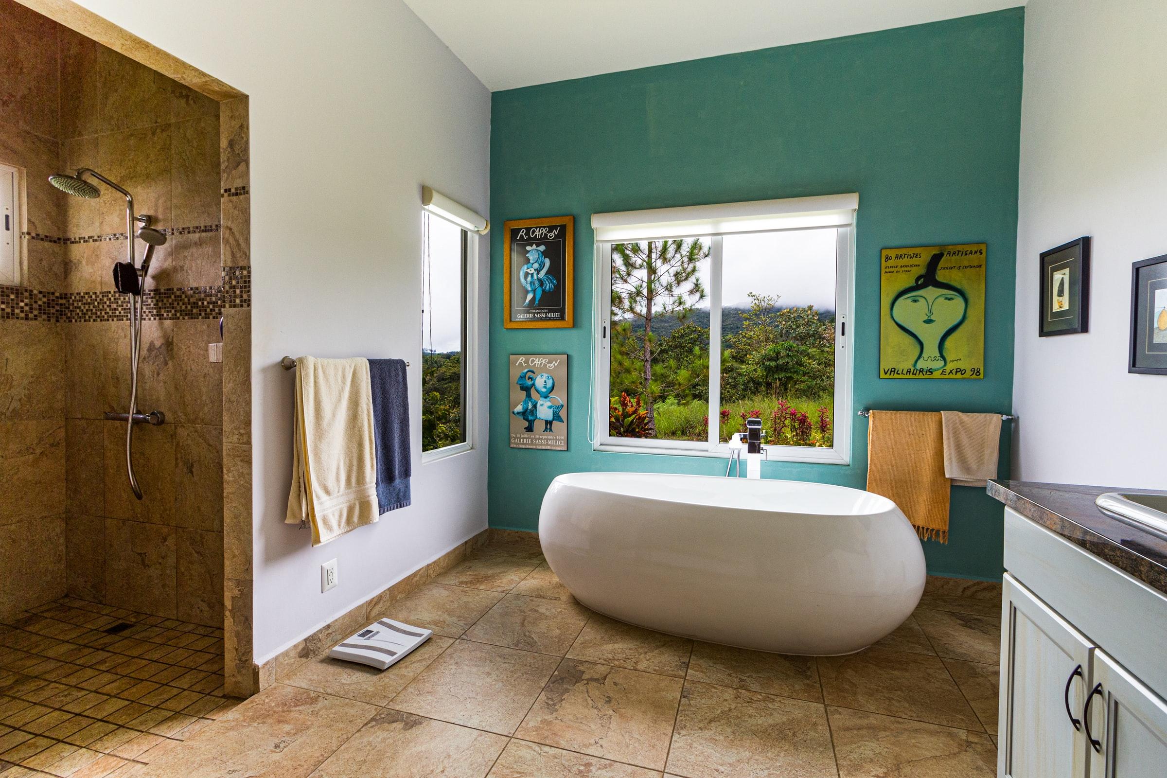 Bathroom floor tiles   Precious Tiling